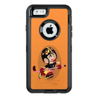 HOCKEY PLAYER CARTOON Apple iPhone 6  DS