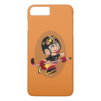 HOCKEY PLAYER CARTOON Apple iPhone 7 Plus  BT iPhone 8 Plus/7 Plus Case