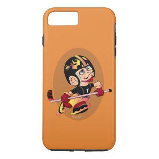 HOCKEY PLAYER CARTOON Apple iPhone 7 Plus  TOUGH iPhone 7 Plus Case