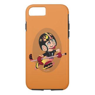 HOCKEY PLAYER CARTOON Apple iPhone 7  TOUGH iPhone 8/7 Case