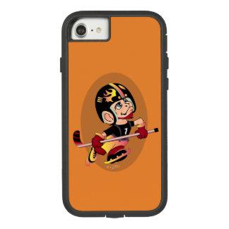HOCKEY PLAYER CARTOON Apple iPhone 7 Tough Xtreme Case-Mate Tough Extreme iPhone 8/7 Case