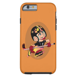 HOCKEY PLAYER CARTOON iPhone 6/6s  TOUGH Tough iPhone 6 Case