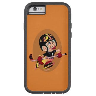 HOCKEY PLAYER CARTOON iPhone 6/6s  TOUGH XT Tough Xtreme iPhone 6 Case