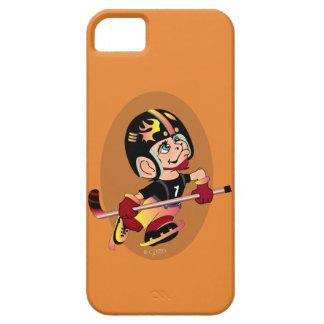 HOCKEY PLAYER CARTOON iPhone SE + iPhone 5/5S  BT iPhone 5 Cover