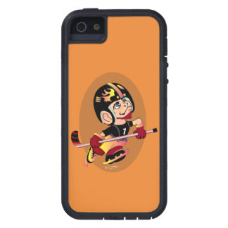 HOCKEY PLAYER CARTOON iPhone SE + iPhone 5/5S  TX iPhone 5 Cover