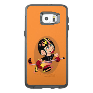 HOCKEY PLAYER CARTOON Samsung Galaxy S6 EdgePlus S