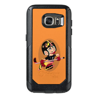 HOCKEY PLAYER CARTOON Samsung Galaxy S7   CS