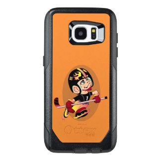 HOCKEY PLAYER CARTOON Samsung Galaxy S7 Edge  CS