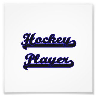 Hockey Player Classic Job Design Photo