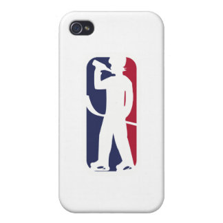 Hockey Player Drinking iPhone 4/4S Cover