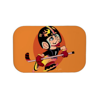 HOCKEY PLAYER LUNCH BOX Monster Extra Faceplate In