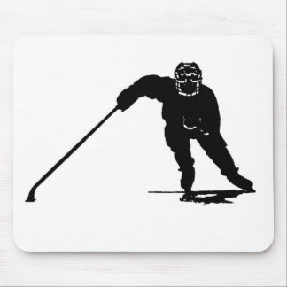Hockey Player Mouse Mat