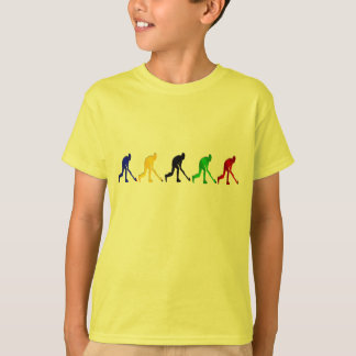 Hockey players field hockey stick and ball gifts t-shirts