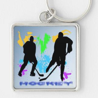 Hockey Players Keychain