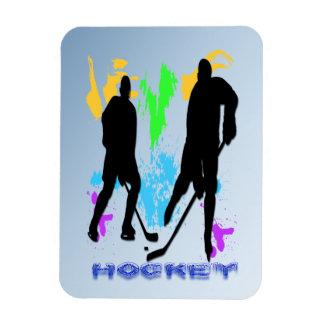 Hockey Players Premium Magnet