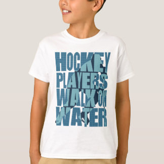 Hockey Players Walk On Water Kids Tee