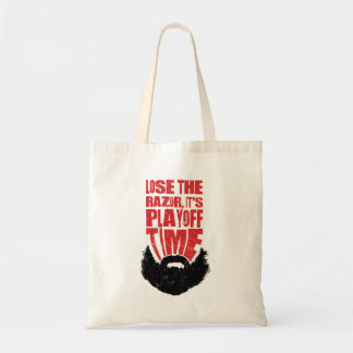 Hockey Playoff Beard Tote Bag