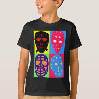Hockey Pop Art Goalie Masks T-Shirt