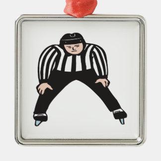 Hockey Referee Christmas Ornament