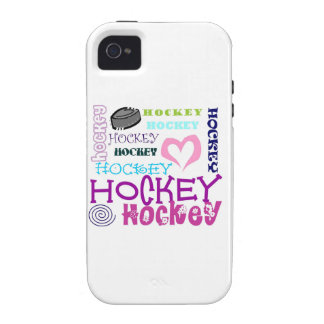 Hockey Repeating Case-Mate iPhone 4 Covers