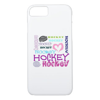 Hockey Repeating iPhone 8/7 Case