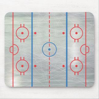 Hockey Rink Ice Mousepad