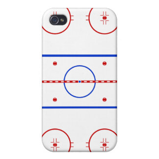 Hockey Rink iPhone 4 Cover