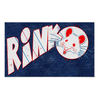 Hockey Rink Rat Poster
