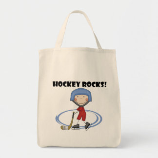 Hockey Rocks T-shirts and Gifts Tote Bag