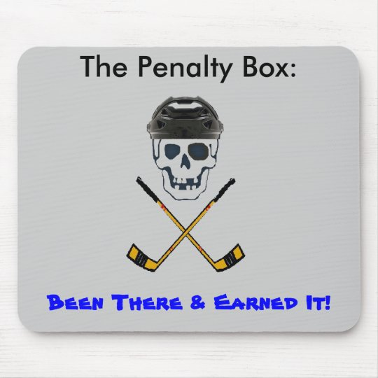 Hockey Roger BIG, The Penalty Box:             ... Mouse Mat