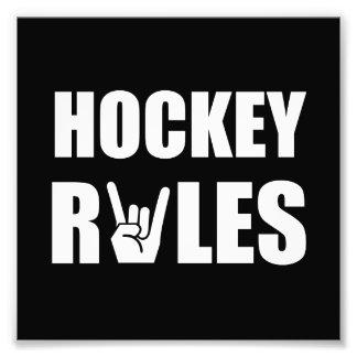 Hockey Rules Photo Art