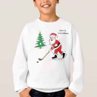 Hockey Santa Christmas Sweatshirt