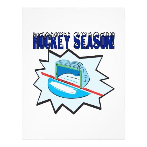 Hockey Season Flyer Design