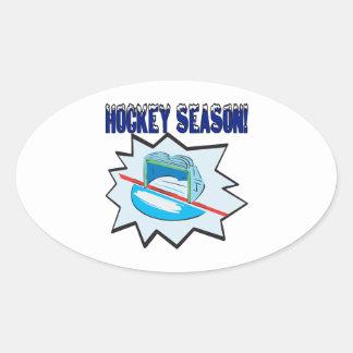 Hockey Season Sticker