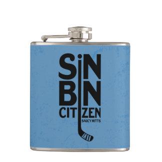 Hockey Sin Bin Citizen Hip Flask
