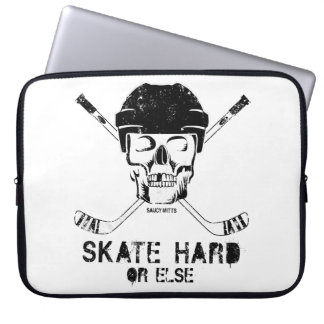 Hockey Skull Computer Sleeve