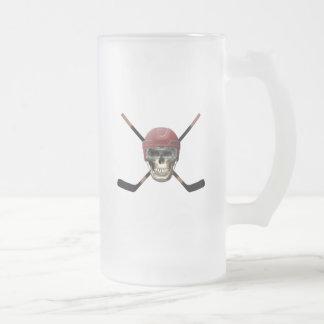 Hockey Skull & Crossed Sticks Mugs
