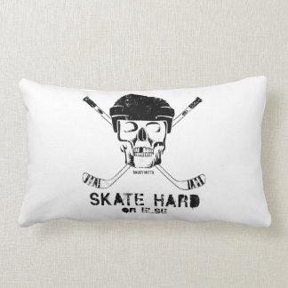 Hockey Skull Pillow