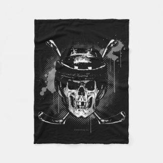 Hockey Skull Fleece Blanket