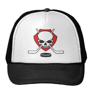 hockey skull hats