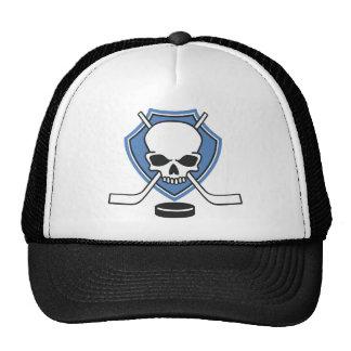 hockey skull trucker hats