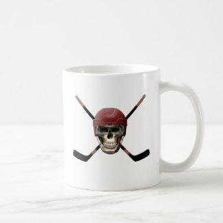 Hockey Skull Helm Mugs