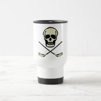 Hockey Skull Coffee Mugs