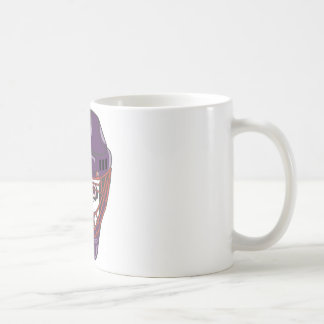 Hockey Skull Coffee Mug