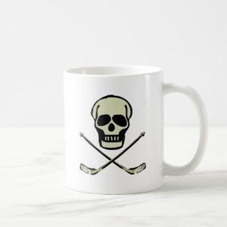 Hockey Skull Mug