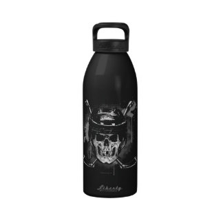 Hockey Skull Water Bottles