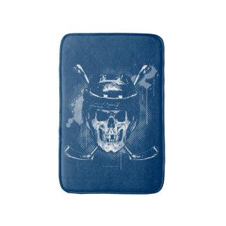 Hockey Skull Bath Mats