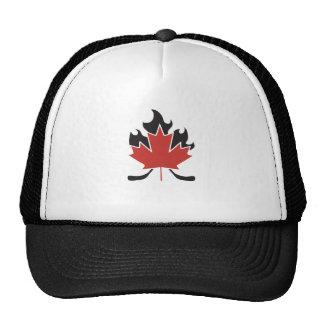 hockey stick cross cap
