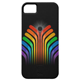 Hockey Stick Spectrum iPhone 5 Cases