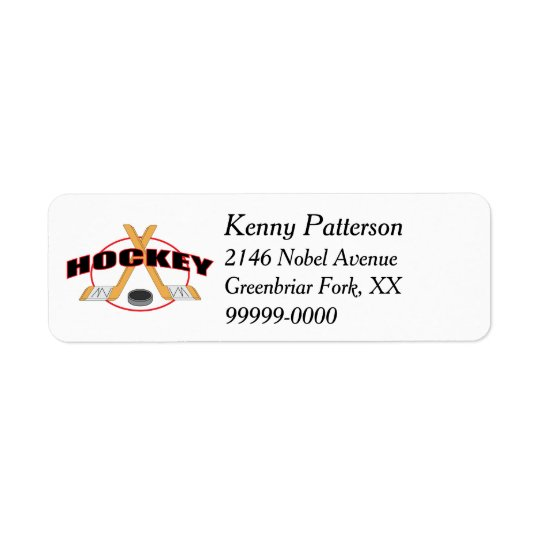 Hockey Sticks and Puck 4 Line